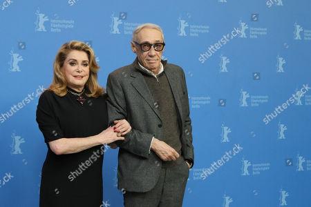 Stock Photo of Catherine Deneuve and Andre Techine