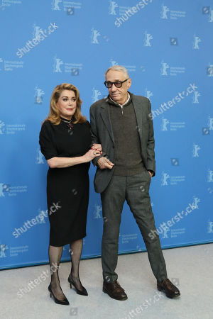 Catherine Deneuve and Andre Techine