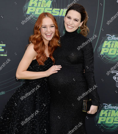 Editorial photo of 'Kim Possible' film premeire, Los Angeles, USA - 12 Feb 2019