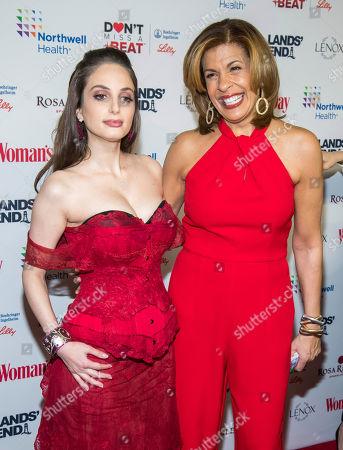 Alexa Ray Joel, Hoda Kotb. Alexa Ray Joel, left, and Hoda Kotb attend the 16th annual Woman's Day Red Dress Awards, in support of women's heart health, at Jazz at Lincoln Center, in New York