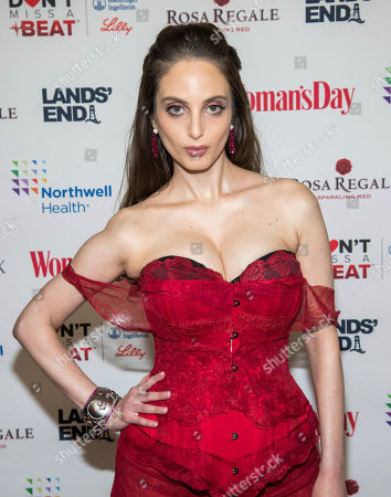 Alexa Ray Joel attends the 16th annual Woman's Day Red Dress Awards, in support of women's heart health, at Jazz at Lincoln Center, in New York