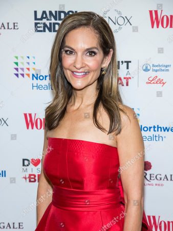 Joy Bauer attends the 16th annual Woman's Day Red Dress Awards, in support of women's heart health, at Jazz at Lincoln Center, in New York