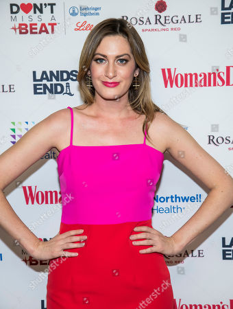 Stock Image of Elizabeth Wagmeister attends the 16th annual Woman's Day Red Dress Awards, in support of women's heart health, at Jazz at Lincoln Center, in New York