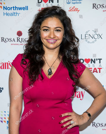 Pooja Kumar attends the 16th annual Woman's Day Red Dress Awards, in support of women's heart health, at Jazz at Lincoln Center, in New York
