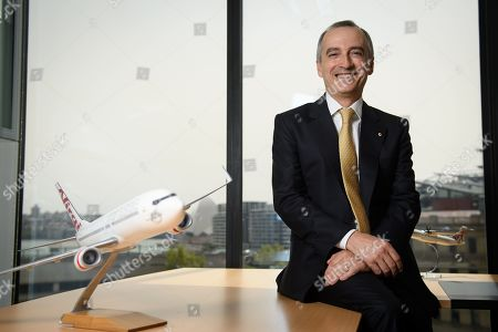 Editorial image of Virgin Australia Group half-year results, Sydney - 13 Feb 2019
