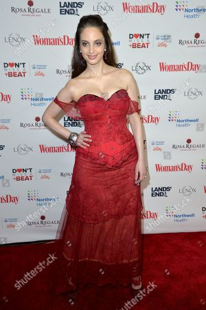 Editorial photo of 16th Annual Red Dress Awards, Arrivals, New York, USA - 12 Feb 2019