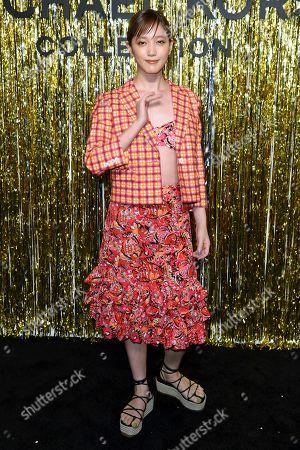 Editorial photo of Michael Kors show, Arrivals, Fall Winter 2019, New York Fashion Week, USA - 13 Feb 2019