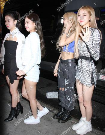 BlackPink - Jisoo, Jennie Kim, Lisa Manoban, Rose