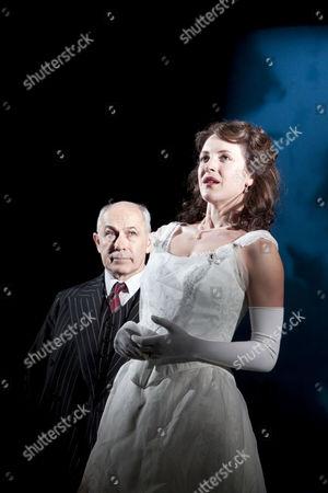 Nicholas Woodeson (Inspector Goole), Marianne Oldham (Sheila Birling)