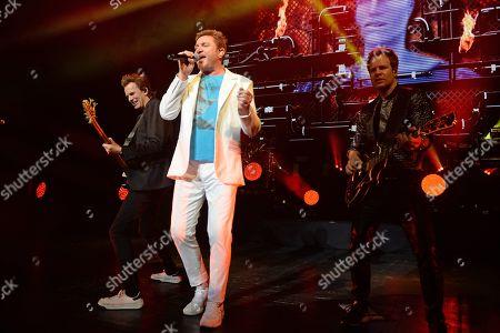 Duran Duran - John Taylor, Simon Le Bon, Dominic Brown