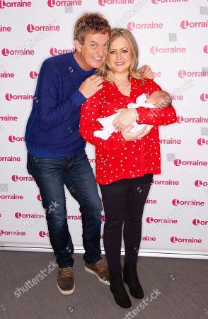 Matthew Wright and Amelia Wright with baby Cassady