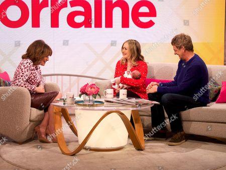 Editorial photo of 'Lorraine' TV show, London, UK - 13 Feb 2019