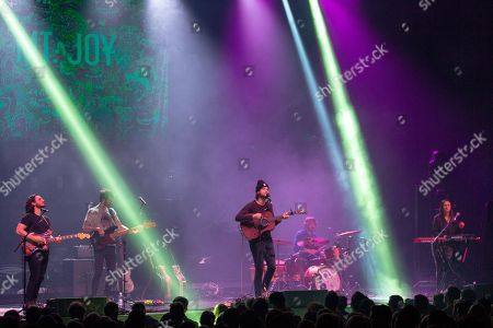 Editorial photo of Mt. Joy in concert, The Sylvee, Madison, Wisconsin, USA - 11 Feb 2019