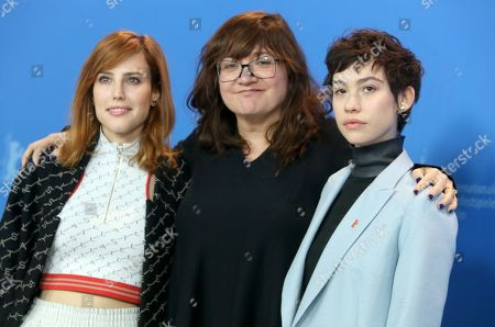 Natalia de Molina, director Isabel Coixet and actress Greta Fernandez pose during the photocall of 'Elisa and Marcela' (Elisa y Marcela) during the 69th annual Berlin Film Festival, in Berlin, Germany, 13 February 2019. The movie is presented in the Official Competition at the Berlinale that runs from 07 to 17 February.