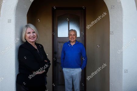 Debbie Douglas, Gary Douglas. Debbie Douglas, left, and her husband and business partner, Gary, pose for a photo in Newport Beach, Calif. In business together for 16 years, the Douglases have found that being co-owners of a public relations firm requires them to be more direct with each other than they once were as spouses