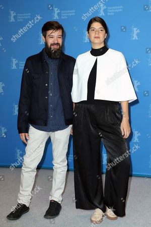 Laura Amelia Guzman (R) and Israel Cardenas pose during the photocall of 'Holy Beasts' (La fiera y la fiesta) during the 69th annual Berlin Film Festival, in Berlin, Germany, 13 February 2019. The movie is presented in the Panorama section at the Berlinale that runs from 07 to 17 February.
