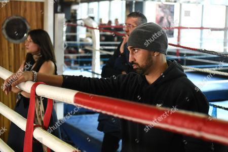 Editorial photo of James DeGale Media Day, Boxing, Stonebridge Amateur Boxing Club, Wembley Gym, London, United Kingdom - 13 Feb 2019