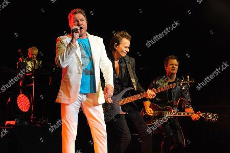 Duran Duran - Simon Le Bon, John Taylor and Dominic Brown