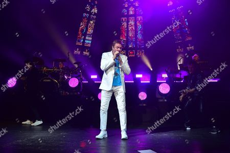 Duran Duran - John Taylor, Roger Taylor, Simon Le Bon, Nick Rhodes and Dominic Brown
