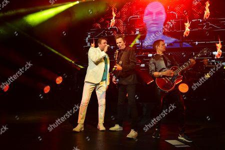 Duran Duran - Simon Le Bon, John Taylor, Dominic Brown