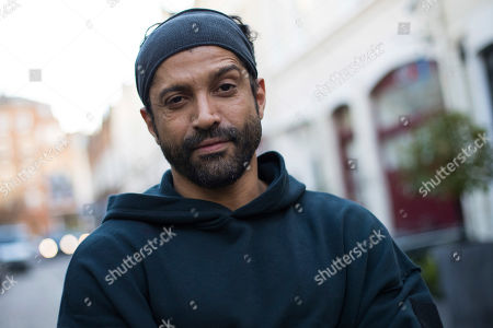 Actor and UN He for She Ambassador Farhan Akhtar poses for a portrait photograph in London