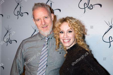 Stock Photo of Chris Barron, Lindsay Nicole Chambers
