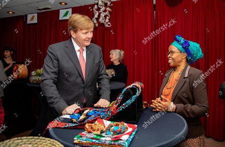 King Willem-Alexander visits Breda