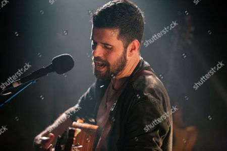 Editorial image of Nick Mulvey in concert, Wilton's Music Hall, London, UK - 13 Feb 2019