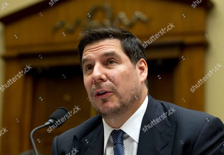Sprint Corporation Executive Chairman Marcelo Claure testifies before the House Commerce subcommittee hearing on Capitol Hill in Washington