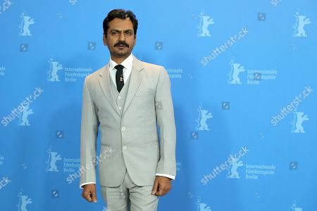 Nawazuddin Siddiqui poses during a photocall during the 69th annual Berlin Film Festival, in Berlin, Germany, 13 February 2019. The movie is presented in the Berlinale Especial at the Berlinale that runs from 07 to 17 February.