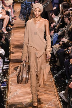 Dilone on the catwalk