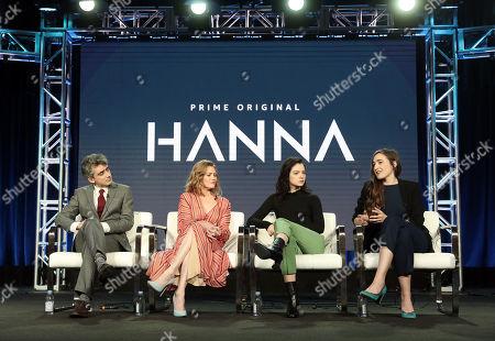 David Farr, Mireille Enos, Esme Creed-Miles and Sarah Adina Smith attends the Amazon Studios Winter 2019 TCA