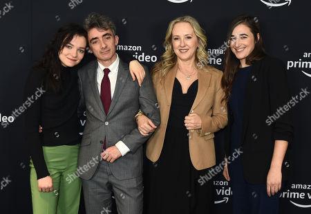 Esme Creed-Miles, David Farr, Jennifer Salke and Sarah Adina Smith attend the Amazon Studios Winter 2019 TCA