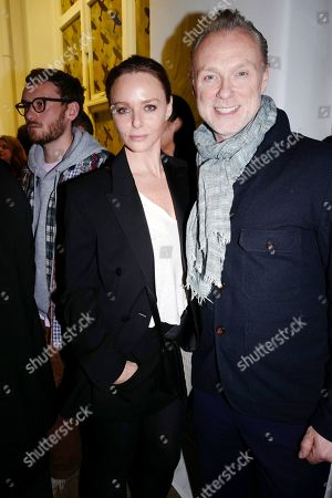 Stella McCartney and Gary Kemp
