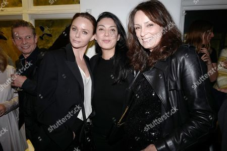 Stella McCartney, Guest and Tricia Ronane