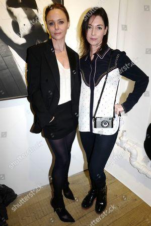 Stella McCartney and Mary McCartney