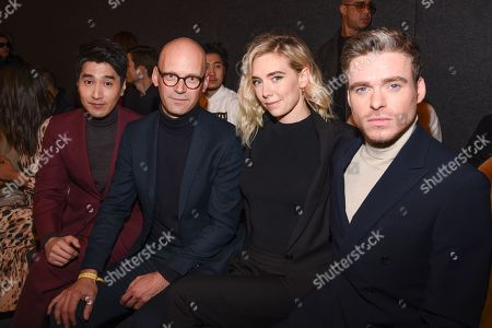 Mark Chao, Mark Langer, Vanessa Kirby and Richard Madden in the front row