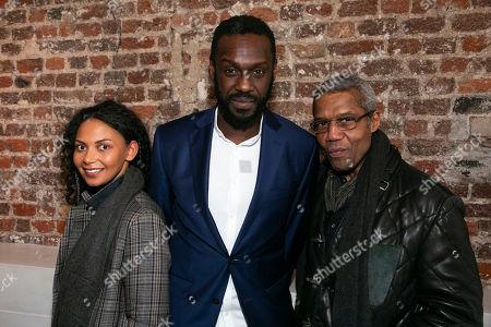 Lois Chimimba, Sule Rimi (Robertson/Taylor/Moe 3) and Hugh Quarshie