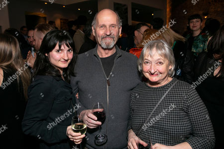 Ruby Bentall, Paul Bentall (Grandpa/Mr. Howard/Dugan) and Janine Duvitski