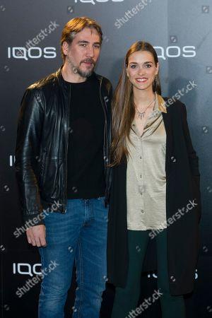 Stock Image of Clara Mendez-Leite and Alberto Ammann