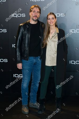 Stock Picture of Clara Mendez-Leite and Alberto Ammann