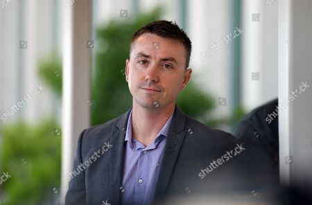 One Nation media advisor James Ashby arrives at Parliament House in Canberra, Australian Capital Territory, Australia, 14 February 2019. United Australia Party (UAP) Senator Brian Burston was allegedly involved in a physical altercation with James Ashby, his former party leader's adviser, in Parliament House on the 13 February, media reported.