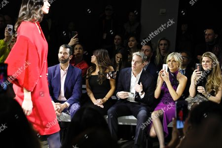 Stock Photo of Donald Trump Jnr., Kimberly Guilfoyle, Bill Hemmer, Marla Maples and Dr Dendy Engelman in the front row