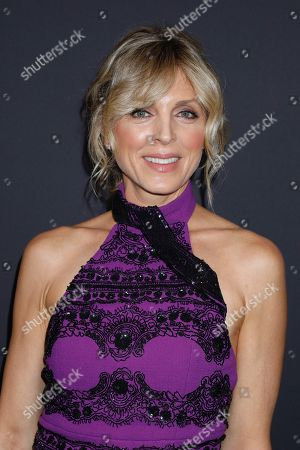 Marla Maples in the front row