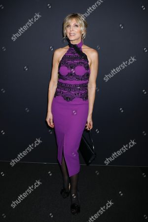 Editorial picture of Zang Toi show, Front Row, Fall Winter 2019, New York Fashion Week, USA - 13 Feb 2019
