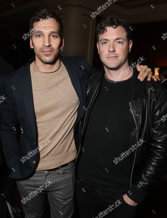Stock Photo of Scott Speiser and Brendan Hines attend the Amazon Studios Winter 2019 TCA
