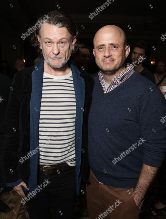 Stock Photo of Ben Edlund and Eric Kripke attend the Amazon Studios Winter 2019 TCA