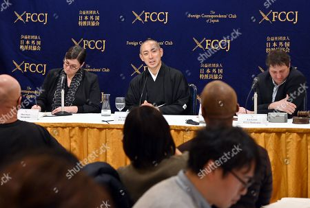 Editorial image of Kabuki Modernity and Preservation, Panel Discussion, Tokyo, Japan - 13 Feb 2019