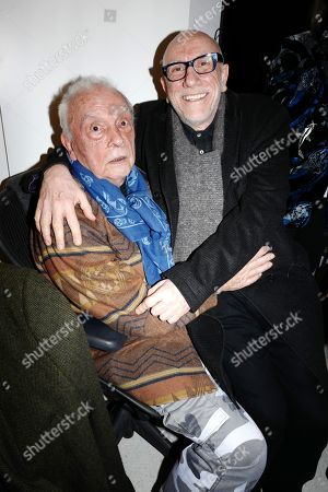 David Bailey and Brian Clarke