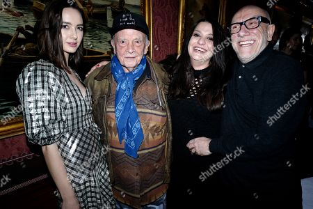 David Bailey, Paloma Bailey and Brian Clarke